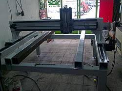 build thread my cnc router with linear atc