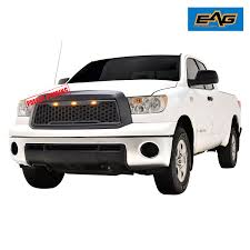 EAG 10-13 Toyota Tundra Mesh Grille Full Replacement ABS With 3 ...