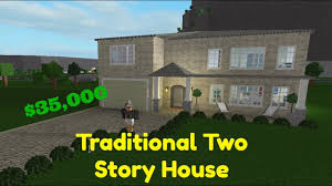 100 Picture Of Two Story House BLOXBURGTraditional Speed Build