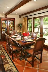 Spanish Style Dining Room Set Home Rustic