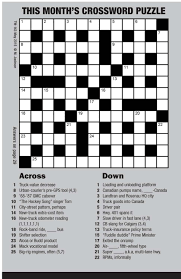 Crossword Puzzle May 15 - Truck News Chris Khodadi Author At Mike Prado Military Slang Vinamveterans349 The Ultimate Trucker Quiz Howstuffworks Amazoncom Funny Truck Driver Quotes Gift For Lingo Guide Definitions Trucker Language 22 Best Infographics Images On Pinterest Semi Trucks Truck Anchorwave Yuma Driving School Duck Shover Diary Of A Driver Long Haul One Year Solitude Americas Highways How Day In Ups Big Rig Opened My Mind To Trucking 16 Bizarre Examples Of Cb Radio Lingo Once Sexy Now Obsolete Decline American Culture