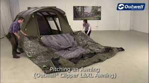Outwell Clipper L & XL Awning Pitching Video | Innovative Family ... Outwell Louisiana 7p Youtube 3layer Insulate Tent Carpet Vermont Xlp Package Inc Footprint 7 Berth In Outwell Vermont L Lp With Front Extension 2013 Dual Protector Roof Protector For Your Tent Montana 6 At Outdoor Action Blackburn Man 7sa How To Pitch An Smart Air Awning Innovative Family