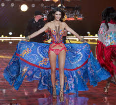 New Victorias Secret Halloween Panties by Gigi Hadid And Kendall Jenner Join The Angels At Victoria U0027s Secret