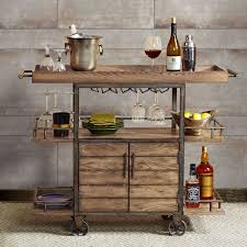 Attractive Bar Cart Furniture 25 Best Ideas About Industrial For Rustic Decor 17