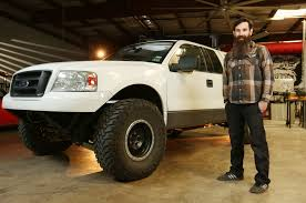 Celebrity Drive: Aaron Kaufman Of Discovery TV's 'Fast N' Loud ... Velociraptor With The Stage 2 Suspension Upgrade And 600 Hp 1993 Ford Lightning Force Of Nature Muscle Mustang Fast Fords Breaking News Everything There Is To Know About The 2019 Ranger Top Speed Recalls 2018 Trucks Suvs For Possible Unintended Movement Five Most Expensive Halfton Trucks You Can Buy Today Driving Watch This F150 Ecoboost Blow Doors Off A Hellcat Drive F 150 Diesel Specs Price Release Date Mpg Details On 750 Shelby Super Snake Murica In Truck Form Tfltruck 5 That Are Worth Wait Lane John Hennessey Likes To Go Fast Real Crew At A 1500 7 Second Yes Please Fordtruckscom