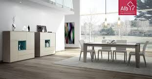 Modern Lacquered Dining Room