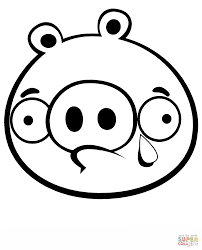 Click The Crying Minion Pig Coloring Pages