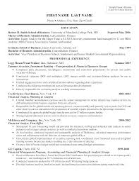 Sample Banking Resumes Resume Template For Bank Teller Of Finance Investment Professional
