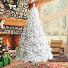 7ft White Christmas Tree Lifkartcom