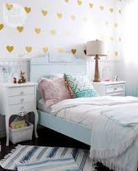 amazing tween bedroom design pink navy gold and green