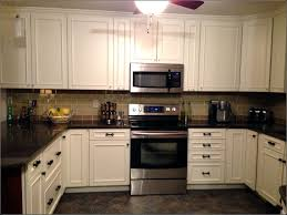 Peel And Stick Faux Glass Tile Backsplash by Decor Superwhite Granite Countertop With Kraus Sinks And Graff