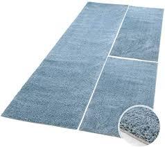 carpet city bettumrandung shaggy aus hochwertigen micro