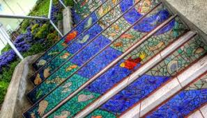 16th Avenue Tiled Steps In San Francisco by Hundreds Of Floating Umbrellas Above A Street In Agueda Portugal