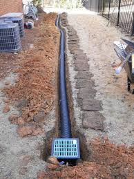 Menards Septic Drain Tile by Rain Always Brings A Few Drainage Calls Some Past Solutions