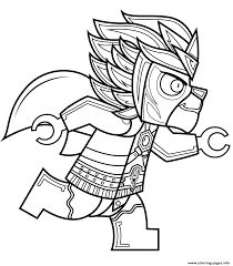 Lego Chima Laval Coloring Pages