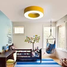 Office Hallway Children Lamp Color Garden Light Ceiling Ring Engineering Nursery Classroom Lighting Lamps In Lights From