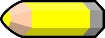 Yellow Pencil clip art