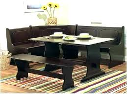 Corner Bench Table Sets Booth Style Dining Tables Image
