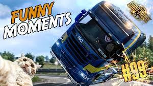 100 Cheetah Trucking Euro Truck Simulator 2 Multiplayer Funny Moments Crash Compilation