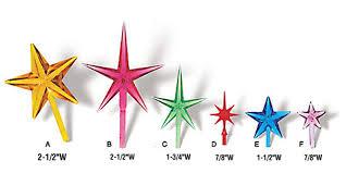 STARS For Ceramic Christmas Trees