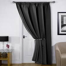 Thermal Lined Curtains Australia by Single Thermal Door Curtain Amazon Co Uk