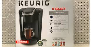 Head Over To Target Where This Keurig K Select Single Serve Cup Pod Coffee Maker In Black Is On Sale For 9499 12999 Shipped