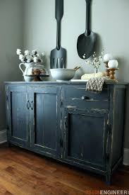 Farmhouse Buffet Plans Free Diningroomplans Wine And Hutch White