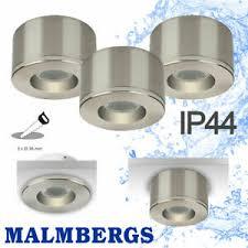 details zu led spot aufputz aufbau leuchte alu badezimmer feuchtraum strahler ip44 dimmbar