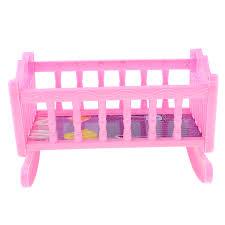 möbel nette rosa puppenhausmöbel holzspielzeug schlafzimmer