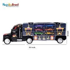 100 Matchbox Car Carrier Truck MegaToyBrand Hauler Transporter Rier Toy With 6 S