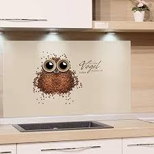 grazdesign küchenrückwand küche glas bild spritzschutz herd