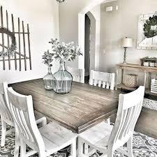 Adorable 60 Rustic Farmhouse Dining Room Furniture And Decor Ideas Decorapatio