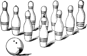 Bowling alley clipart 3 bowling clip art images free for 2 2