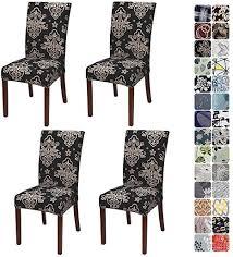 jotom stuhlhussen universal stretch stuhlbezug elastische moderne stuhl hussen set abnehmbare dekoration stuhlabdeckung für esszimmer hotel