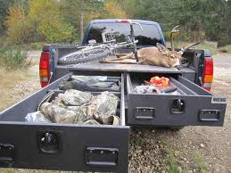 Truck bed Drawers 4x4 Camping Truck Overlander
