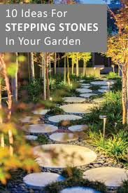 10 Landscaping Ideas For Using Stepping Stones In Your Garden ... Garden With Tropical Plants And Stepping Stones Good Time To How Lay Howtos Diy Bystep Itructions For Making Modern Front Yard Designs Ideas Best Design On Pinterest Backyard Japanese Garden Narrow Yard Part 1 Of 4 Outdoor For Gallery Bedrock Landscape Llc Creative Landscaping Idea Small Stone Affordable Path Family Hdyman Walkways Pavers Backyard Stepping Stone Lkway Path Make Your