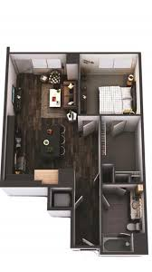 100 One Bedroom Interior Design Ideas For Furniture Layout In A 780 Sq Ft One Bedroom Floor
