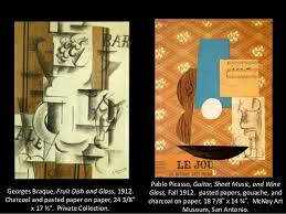 Picasso Still Life With Chair Caning Analysis by Expressionism Through Cubism