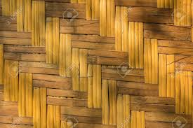 100 Bamboo Walls Texture Of Woven Under The Shadow Of Trees Stock