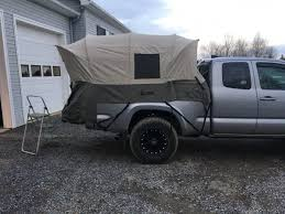100 Canvas Truck Cap Kodiak Truck Tent Tacoma World