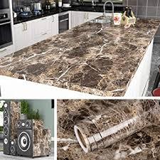 livelynine marmor folie für tisch klebefolie küche arbeitsplatte folie für möbel schrank fensterbank küchenarbeitsplatte schminktisch deko mamorfolie