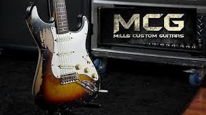 A Mills Custom Guitars E Famosa No YouTube Por Registrar Em Video Todo O Processo De Confeccao Replicas Extremamente Detalhadas Guitarras Emblematicas