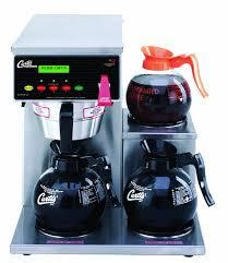 Wilbur Curtis G3 Alpha Decanter Brewer 64 Oz Coffee 3 Station Lower Right Warmer