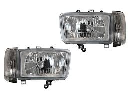 depo crystal chrome headlights corner lights for 92 93 94 95