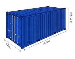20 Foot Shipping Container Exterior Dimensions