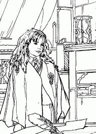 Harry Potter Fluffy Coloring Pages