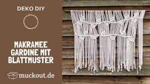 makramee vorhang mit anleitung diy tutorial muckout de bastel sets diy anleitungen