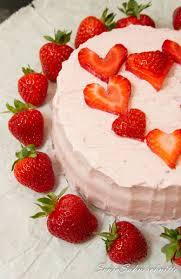 erdbeer herz torte süße sachen selber machen