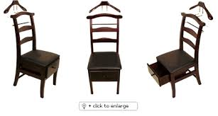 Mens Dresser Valet Stand by Chair Valet Stand Dark Mahogany