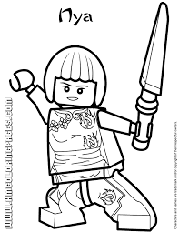 Image Gallery Lego Ninjago Coloring Pages